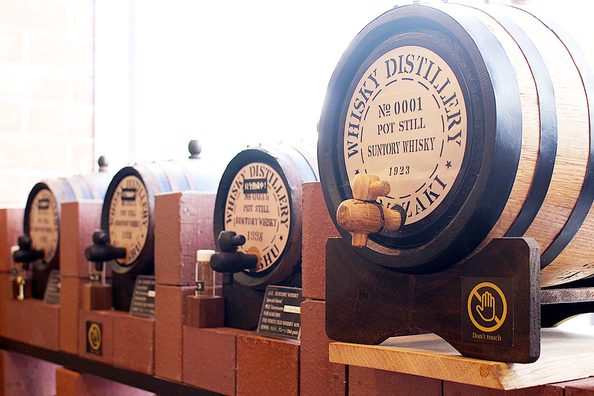 Remarkably high quality whisky aged in an original barrel