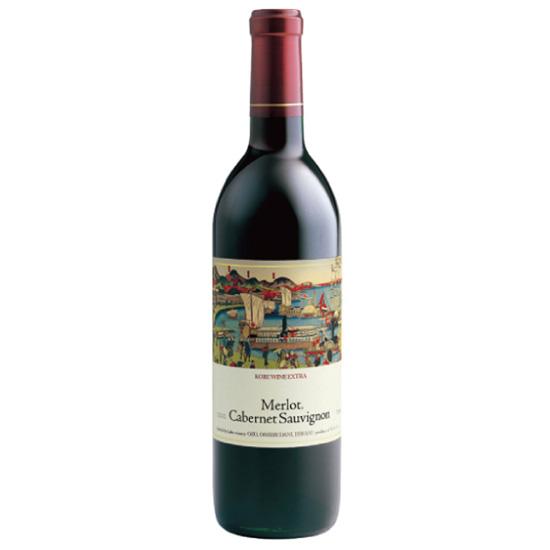 Wine Carefully Selected by Meriken・Hatoba: [KOBE WINE EXTRA RED]