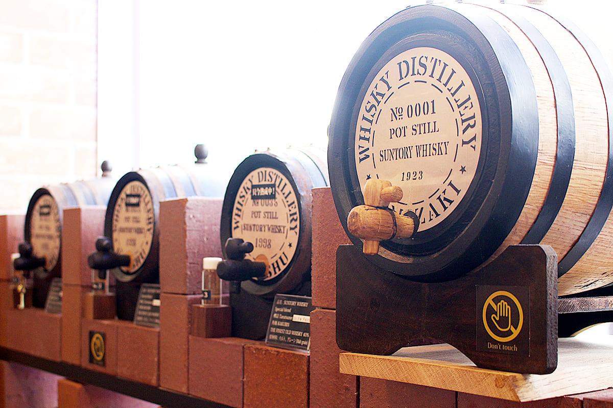 Whisky notablemente de alta calidad envejecido en un barril original