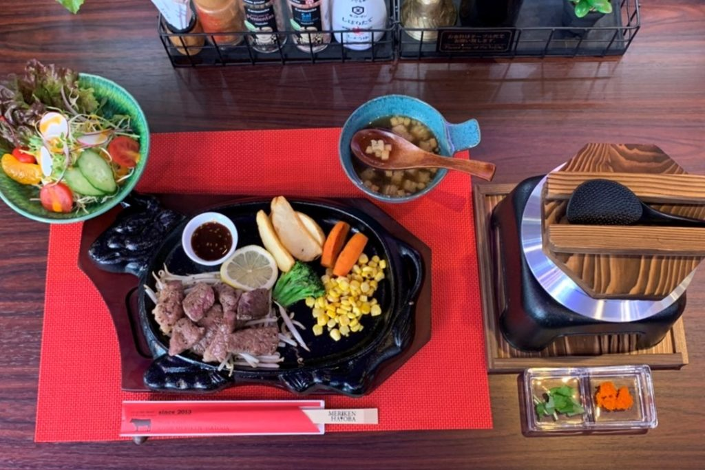 ¡Crítico gastronómico del Editor en Jefe de Ichiban Kobe! ¡¡Disfrute el combo especial de almuerzo Meriken・Hatoba!!